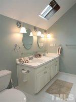 A sampling of our bathroom remodel work.